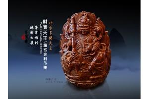 【財寶天王】四大護法天王之多聞天王(北天王)G01