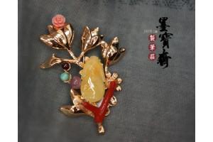 珊瑚胸針4