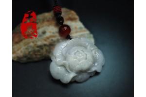 「花開富貴」天然紫羅蘭項鍊