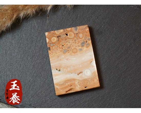 【奇石原礦款】龍宮舍利原礦 項鍊/掛飾 ZB-12